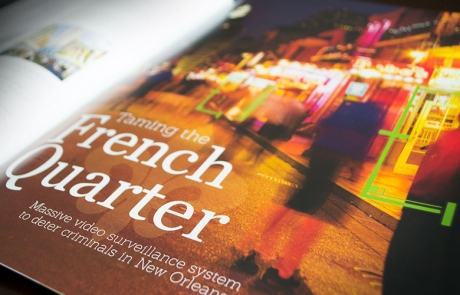 Taming the French Quarter - JBA Advisor Fall 2013 Magazine Spread for Arthouse Design Studio